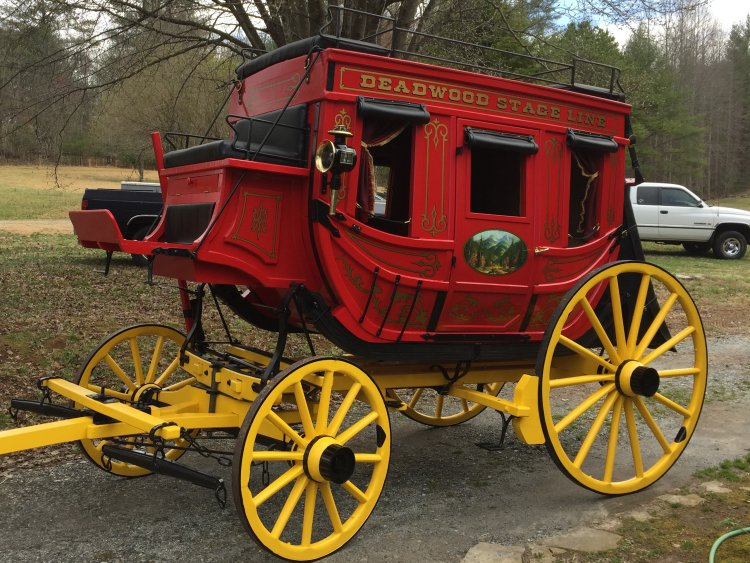 New Reproduction Stagecoach