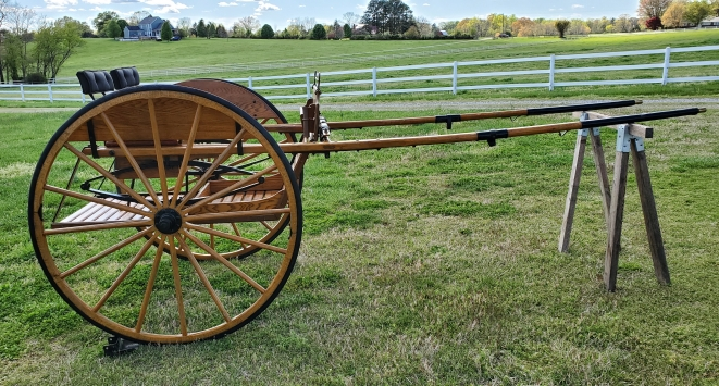 Amish Built Meadowbrook Cart w/ Harness