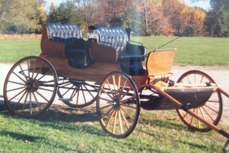Premier 4-5 Seat Hand Crafted Oak Carriage